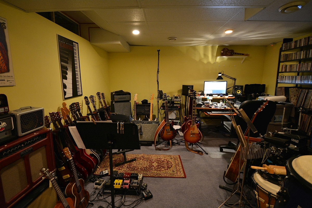 Man Cave Guitar Room : Show your jam space man cave guitar room page